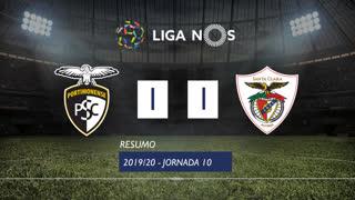 Liga NOS (10ªJ): Resumo Portimonense 1-1 Santa Clara