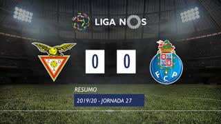 Liga NOS (27ªJ): Resumo CD Aves 0-0 FC Porto