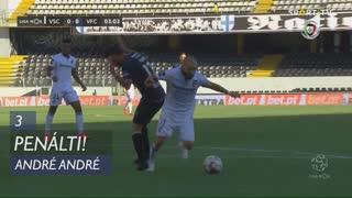 Vitória SC, Penálti, André André aos 3'