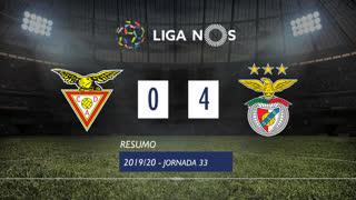 Liga NOS (33ªJ): Resumo CD Aves 0-4 SL Benfica