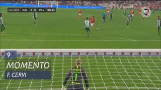 SL Benfica, Jogada, F. Cervi aos 9'