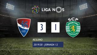 Liga NOS (12ªJ): Resumo Gil Vicente FC 3-1 Sporting CP