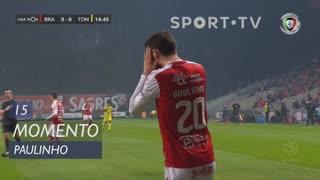 SC Braga, Jogada, Paulinho aos 15'