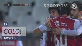 GOLO! SC Braga, Trincão aos 19', Belenenses SAD 0-2 SC Braga
