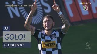 GOLO! Boavista FC, G. Dulanto aos 28', CD Tondela 1-1 Boavista FC