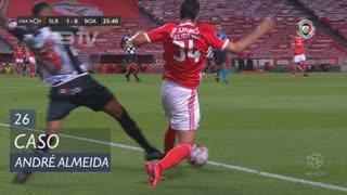 SL Benfica, Caso, André Almeida aos 26'