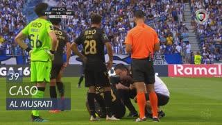 Vitória SC, Caso, Al Musrati aos 39'