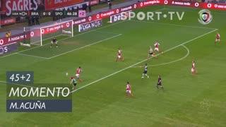 Sporting CP, Jogada, M. Acuña aos 45'+2'