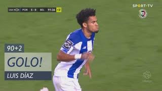 GOLO! FC Porto, Luis Díaz aos 90'+2', FC Porto 5-0 Belenenses SAD
