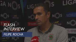 Liga (1ª): Flash Interview Filipe Rocha