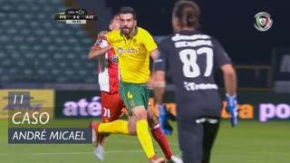 FC P.Ferreira, Caso, André Micael aos 11'
