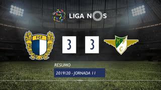 Liga NOS (11ªJ): Resumo FC Famalicão 3-3 Moreirense FC