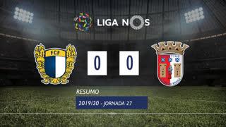 Liga NOS (27ªJ): Resumo FC Famalicão 0-0 SC Braga