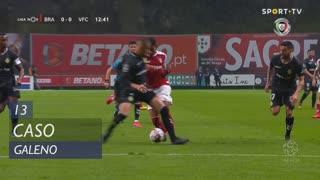 SC Braga, Caso, Galeno aos 13'