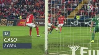 SL Benfica, Caso, F. Cervi aos 38'