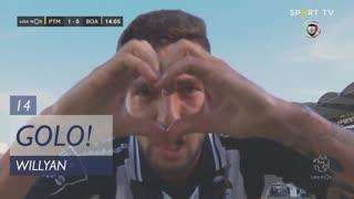 GOLO! Portimonense, Willyan aos 14', Portimonense 1-0 Boavista FC