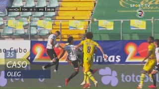 FC P.Ferreira, Caso, Oleg aos 35'