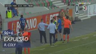 FC Famalicão, Expulsão, R. Coly aos 90'+6'
