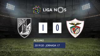 Liga NOS (17ªJ): Resumo Vitória SC 1-0 Santa Clara