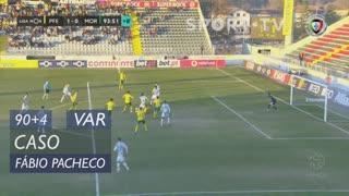 Moreirense FC, Caso, Fábio Pacheco aos 90'+4'