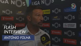 Liga (5ª): Flash Interview António Folha