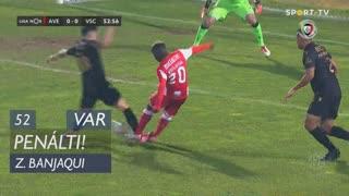 CD Aves, Penálti, Zidane Banjaqui aos 52'