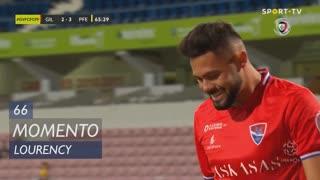 Gil Vicente FC, Jogada, Lourency aos 66'