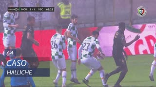 Moreirense FC, Caso, Halliche aos 64'