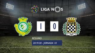 Liga NOS (10ªJ): Resumo Vitória FC 1-0 Boavista FC