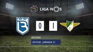 Liga NOS (31ªJ): Resumo Belenenses SAD 0-1 Moreirense FC