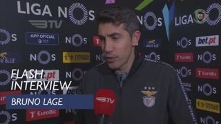 Liga (16ª): Flash Interview Bruno Lage