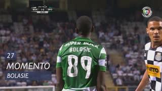 Sporting CP, Jogada, Bolasie aos 27'