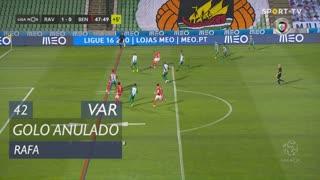 SL Benfica, Golo Anulado, Rafa aos 42'