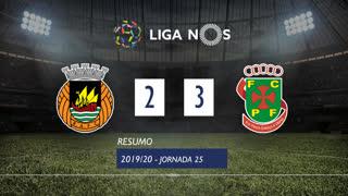 Liga NOS (25ªJ): Resumo Rio Ave FC 2-3 FC P.Ferreira