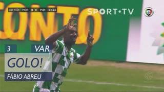 GOLO! Moreirense FC, Fábio Abreu aos 3', Moreirense FC 1-0 FC Porto