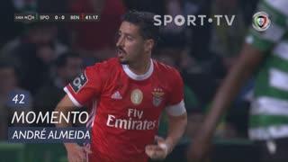 SL Benfica, Jogada, André Almeida aos 42'