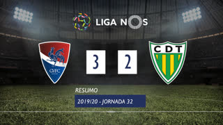 Liga NOS (32ªJ): Resumo Gil Vicente FC 3-2 CD Tondela