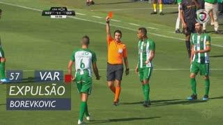 Rio Ave FC, Expulsão, Borevkovic aos 57'