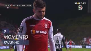 SC Braga, Jogada, Paulinho aos 8'