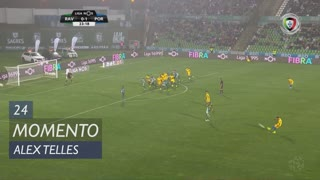 FC Porto, Jogada, Alex Telles aos 24'