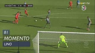 Gil Vicente FC, Jogada, Lino aos 81'