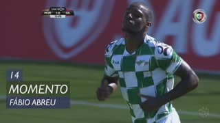 Moreirense FC, Jogada, Fábio Abreu aos 14'