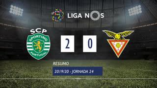 Liga NOS (24ªJ): Resumo Sporting CP 2-0 CD Aves