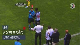 Boavista FC, Expulsão, Lito Vidigal aos 84'