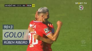 GOLO! Gil Vicente FC, Rúben Ribeiro aos 90'+3', Vitória SC 1-1 Gil Vicente FC