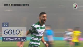 GOLO! Sporting CP, Bruno Fernandes aos 79', FC P.Ferreira 1-2 Sporting CP