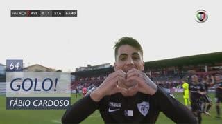 GOLO! Santa Clara, Fábio Cardoso aos 64', CD Aves 0-1 Santa Clara