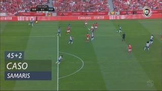 SL Benfica, Caso, Samaris aos 45'+2'
