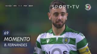 Sporting CP, Jogada, Bruno Fernandes aos 69'