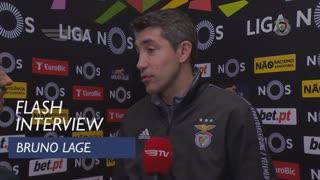 Liga (23ª): Flash Interview Bruno Lage